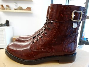 Ankle Boot – Burgundy
